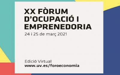 La APAFCV en el XX Foro de Empleo de la Facultad de Economía de Valencia: 24 y 25 de marzo