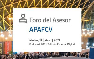 Novena edición del 'Foro del Asesor' de la APAFCV, en la edición digital de Forinvest 2021
